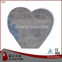 China granite cemetery bench monument