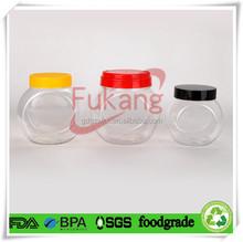 PET Plastic Type and Plastic Cap Material 500ml pet Clear Plastic Bottle