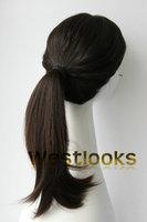 Hot Sale 100% Virgin Mongolian Jewish Human Hair Pony Wigs Wholesale