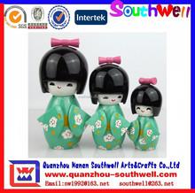 custom cute janpan kimmi doll for souvneir gifts