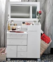 Wood Modern White Dresser