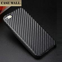 Carbon Fiber Pattern Back Cover Case for iPhone5 / Factory for IPhone 5 Hard Cellphone Case / for IPhone 5 5s Case