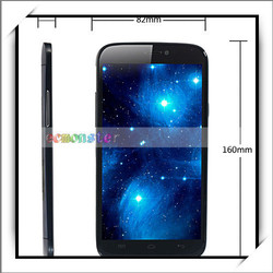 """Low Price China Mobile Phone 5.7"""" Android 4.2 MTK6589 Quad-Core 16GB 13MP Camera Smart Phone Black"""