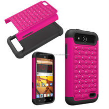 shockproof cellphone protector diamond case for zte speed N9130