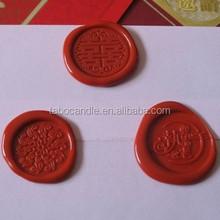 Unique design wax seal sticker/New Style Custom Logo Sealing stickers