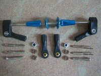 Vertical push rod assembly / gasoline airplane accessories