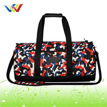 Custom round travel duffle bag custom sports bags