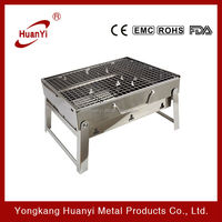 stainless steel charcoal portable bbq grill on sale