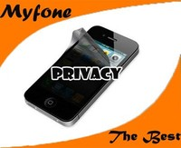 Factory price wholesale Anti spy privacy screen protector for iphone 5/5C/5S