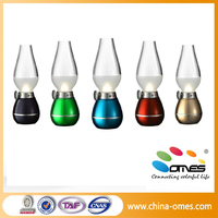 China factory new blowing rechargeable led table lamp