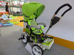 Green baby bike/stroller 2015Fashion Trend HLF-5566-3 Rotating seat