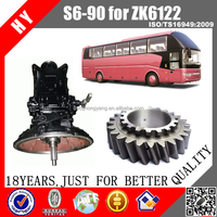 ZF transmission S6-90 gearbox parts for YUTONG ZK6122 bus