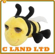 Fashion bee plush stuffed toys