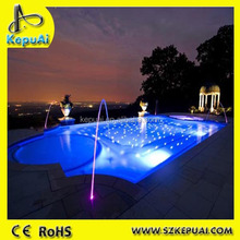 Hot sale high quality competitive price plastic PMMA fiber optic led swimming pool light made in China