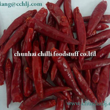 2015 new crop air dried nature color red tianjin chili pods on sell