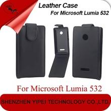 PU Leather Case For Microsoft Lumia 532 Flip Case For Nokia 532