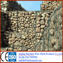 Factory supply Galvanized gabion basket / welded gabion box / anping hexagonal mesh for sale