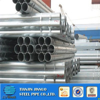 Hot dipped galvanized steel pipe for scaffolding