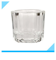Best Seller Colourful Dental Glass Mixing Cup/Dappen Dish