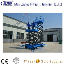10M Hydraulic Mobile mechanical lift table mechanism