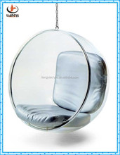 2015 new design acrylic hanging bubble chair