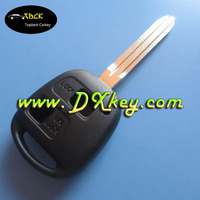 best car key with TOY43 blade for 2 buttons toyota key toyota remote car key shell