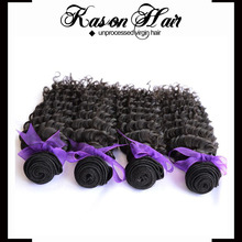 Kason Hair Products High Quality Full Cuticle No Chemical Processed Deep Wave Virgin Brazilian Human Hair Weave Uk