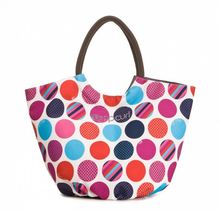 Waterproof Beach Bag With Pockets Plastic Beach Tote Bag