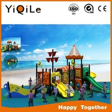 Ocean style children spiral slide with cheap price