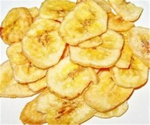 Dried fruit snack crunchy popular dried FD banana slice