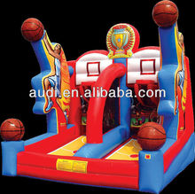 Inflatable basketball/football/tennis Shooting game