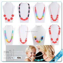 Silicone Safety Baby Chew Toy Necklace