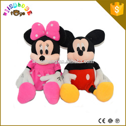 Custom made cute small plush toy mouse, stuffed soft mouse plush dolls toy