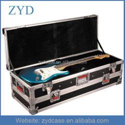 Hand Made Professional Aluminum Tool Box, Double Guitar Flight Case ZYD-HZMgtc006