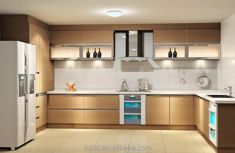 moderne en bois armoires de cuisine simple moderne prix - Cuisine Moderne Les Prix
