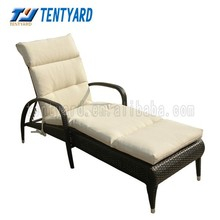 2015 new blue stripe lounger cushion,elegant outdoor and indoor exquiteness sun lounger,comfortable cushion