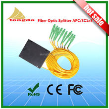 GPON System 1x8 plc splitter, SC Fiber Optic Splitter