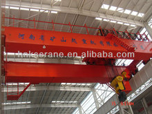 Double Girder Heavy Duty Storage Overhead Crane with Main Hook and Auxiliary Hook