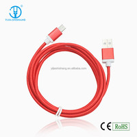 Colorful 1.5M Braided USB Cable Data Charger Cord For Mobile Phone