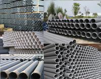 PVC tube thin wall large diameter sewage pipes