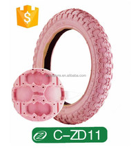 Colored Kid Bicycle Tyre C-ZD11 12 1/2x2 1/4 eco-friendly