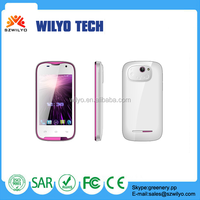 WC3 3.5 inch Android Cell Phone Mtk6572 3g Big Sound Mobile Phone Android Phone Manufacturer
