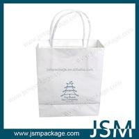 Custom made printed gift paper bag factory price