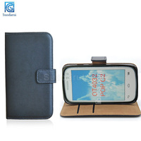 Best Price For Alcatel One Touch Pop C2 Mix Colors Book Flip Leather Wallet Cover Case