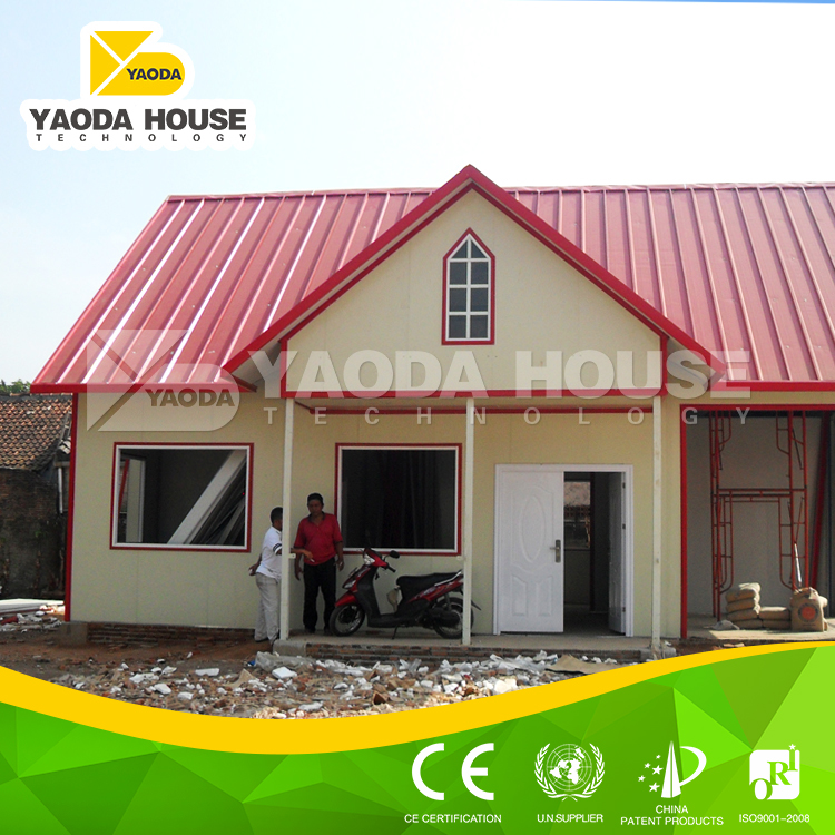 China new design low cost prefab house for kenya buy for Modern house design in kenya