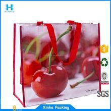 non woven laminated eco friendly shopping tote bag