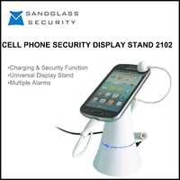 Good quality widely use cell phone security display holder with alarm /mobile phone anti theft