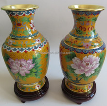 cloisonne inner copper printed chinese vases