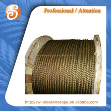 UNGALV Steel Wire Ropes, 6X37+FC STEEL CORE