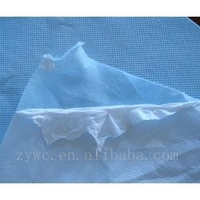 Laminated nonwoven fabric for shopping bags